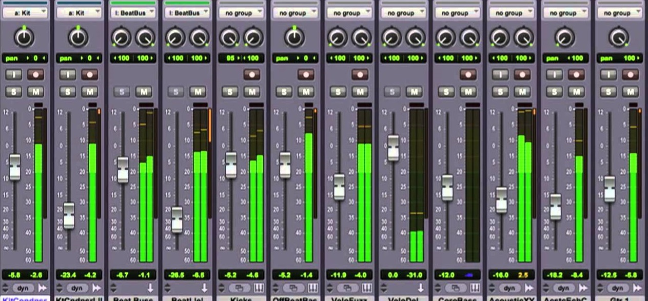 Affordable Tuition and Training for Pro Tools. London and